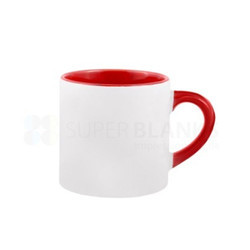 6Oz Color Inside Mug with Handle Color Sublimation Printable Blanks Lower Price for Gift
