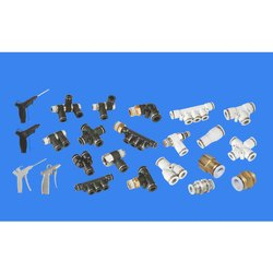 Brass SPAC Pneumatic Connectors Fittings, for Pneumatic Fittings