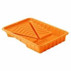 Orange Paint Trays