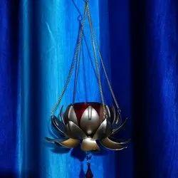 Brass Hook Hanging Candle Holder, for Decoration