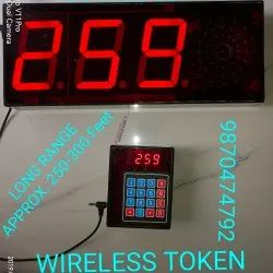Digital Token Display Systems WIRELESS