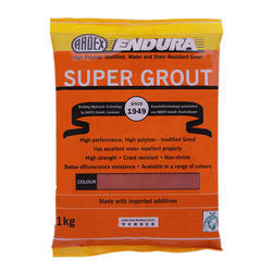 Super Grout Coloured Water & Stain Resistant Grout