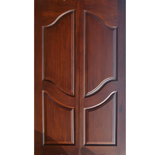 Wooden Double Door  sc 1 st  IndiaMART & Wooden Door at Rs 500 /square feet   Designer Wooden Door   ID ...