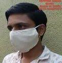 Reusable Khadi Fabric Face Mask, Certification: Krishna Handloom