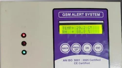 GSM Based Temperature And Humidity Monitoring System