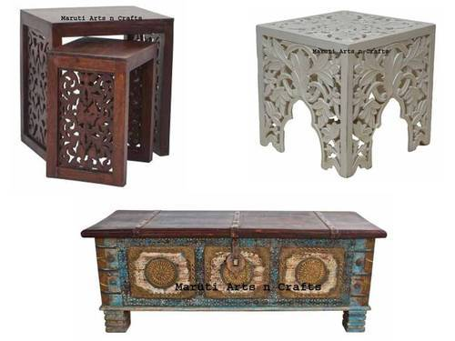 Hand Carved Wooden Furniture
