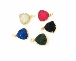 Multi Druzy Gemstone Pendant