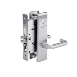 Stainless Steel Mortise Lock With Lever Handle