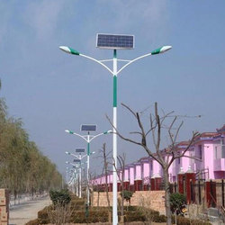 Rustproof Solar Street Light Pole