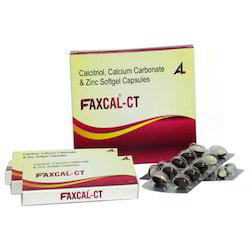 Faxcal CT Softgel Capsules
