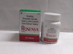 Rosehip Extract , Celery Leaf , Bosewellia Serrata , Devils Claw