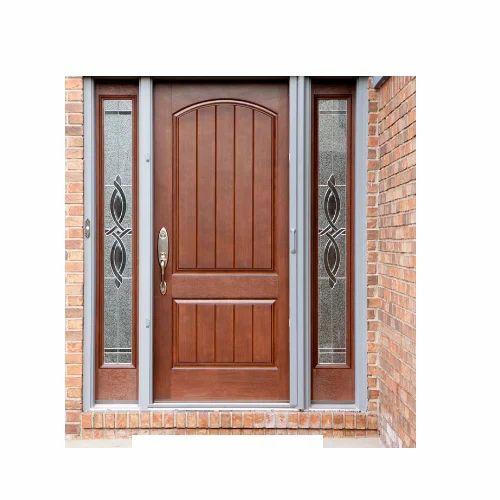 Brown Exterior Door