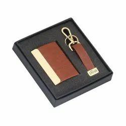 Card Holder & Key Chain Gift Set