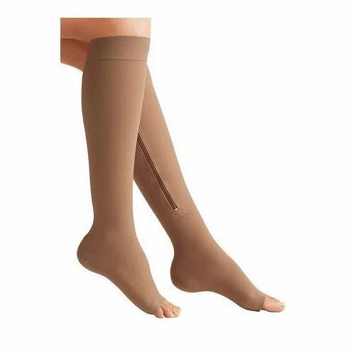 0b19bdefaa Arsa Medicare Varicose Vein Compression Zipper Socks, AM-064, Rs 490 ...