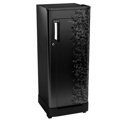 3 Star Black Single Door Whirlpool Refrigerator, Capacity: 190 Liters