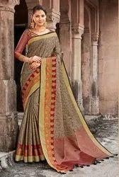 Banarasi Jacquard Weaving Saree ,6.3mtr