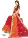 Orange Color Shade Saree