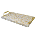 Rawsome shack Mother of pearl tray