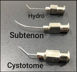 Sub Tenon Anesthesia Cannula  Disposable