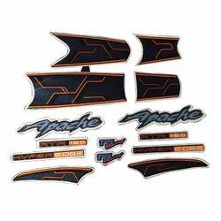 Complete Sticker Kit Apache Rtr Hyper Edge 160 Zadon