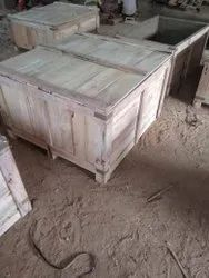 Edible & Non-Edible Rubber Wood Industrial Wooden Packaging Box In Coimbatore, For Shipping, Box Capacity: 201-400 Kg