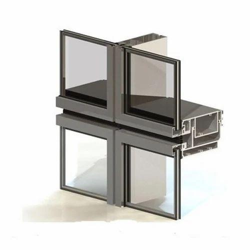 Glass Curtain Wall Glazing Installation Service, Dimension