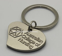 Metal Keyring With Logo