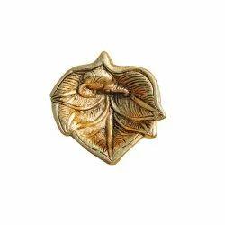 Brass Leaf Diya