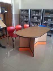 Library Table oval shape