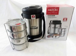 720b945262ff Milton Thermosteel 4 Containers Tiffin Box