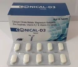 Conical D3 Tablet