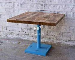 Sqare Vintage Farm Table