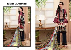 Gulahmed Vol 4 Pure Lawn Pakistani Formal Wear Fantastic Dress Materials