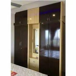 Modular Wooden Bedroom Wardrobe