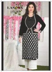 6011 Designer Woolen Kurti