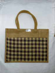 Jute Bag With Luxury Soft Handle