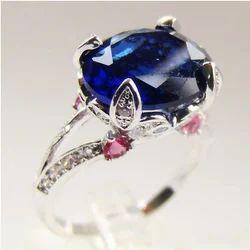 Silver Zircon Ring for Women