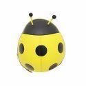 Vismiintrend Yellow Ladybug Shaped Kids Backpack