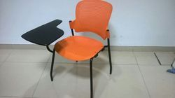 Institutional Training Room Chair With Half Writing Pad