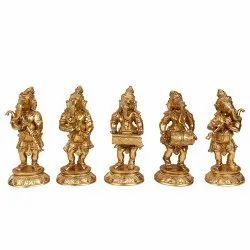 Brass Musical ganesha