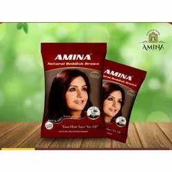 Amina Reddish Brown Powder, Packaging Type: Packet