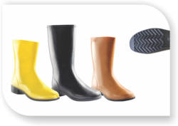 Ladies Long Polyvinyl Chloride Gumboots