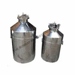 Stainless Steel Filling Vessel