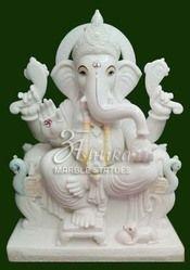 Marble Ganesh Mooti