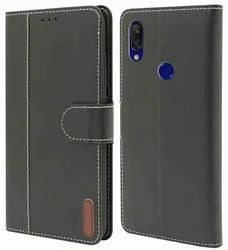 Leather Blue MOBILE FLIP COVER