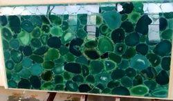Brazilian Green Agate Slab