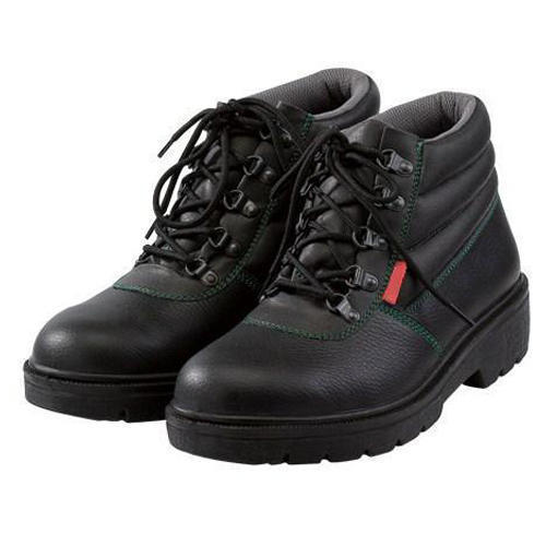 90f7d859a10017 Black Safety Shoes at Rs 250 /pair | Leather Safety Shoes | ID ...