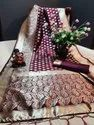 Heavy Weaving Rich Pallu Saree And Also With Running Blouse