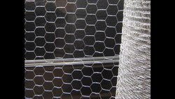 Polish Silver Hexagonal Wire Mesh, For Industrial, Material Grade: Ss 304