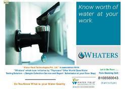 Filter Water Testing